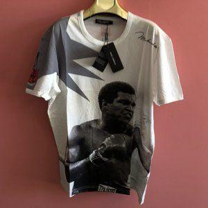 Dolce & Gabbana Men Mohammad Ali Design T-Shirt 50